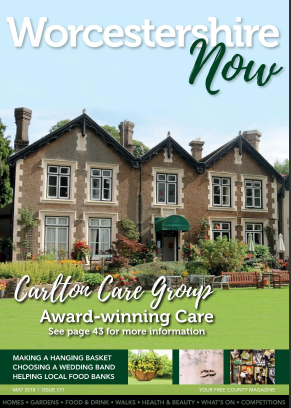 May 2018 Worcestershire Now Magazine Issue